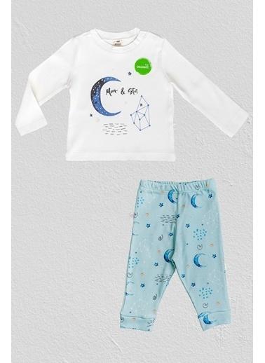 Alish Pijama Takım Mavi